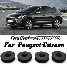 4x Car Floor Mat Clips Carpet Fixing Grips Holders Clamps For Peugeot Citroen