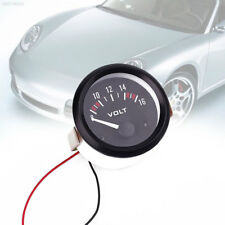 6635 52mm Car DC 8-16V LED Display Panel Voltmeter Volt Voltage Gauge Pointer