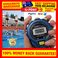 Professional Digital Sports Stopwatch Chronograph Lap Timer with Neck Strap