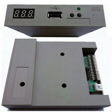 """3,5"""" Floppy Drive USB Emulator Simulation Laufwerk Diskettenlaufwerk in grau"""
