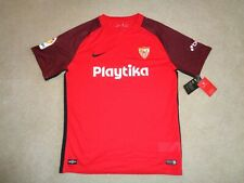 Nwt Authentic Nike Dri-Fit Sevilla Playtika Red Soccer Jersey/Shirt - Size Xl