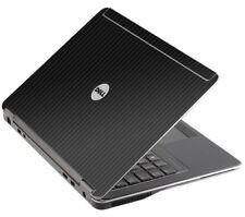 3D CARBON FIBER Vinyl Lid Skin Cover Decal fits Dell Latitude E6440 Laptop