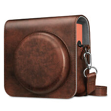 Case for Fujifilm Instax Square Sq1 Instant Camera Leather Bag Cover with Strap