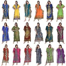 Wholesale lot 50 Assorted Pcs Women Dress Long Beach Wear-Tunic Casual Kaftan