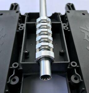 Traxxas X-Maxx Xmaxx Drive Shaft Protector THE BRACE - Aluminum W/ Bearings