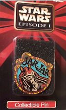 "Applause Jar Jar 1 3/4"" Metal Collector's Pin from Star Wars Episode One-New!"