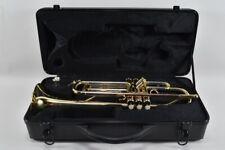 g28f32- Alte Trompete Sheffield mit Koffer