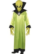 Alien Lord Space Little Green Adult Mens Smiffys Fancy Dress Costume - Medium