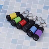 Wasserdichte USB wiederaufladbare LED Taschenlampe Lampe Tasche Schlüssel G3D