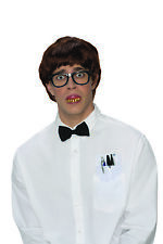 Deluxe Nerd Funny Mens Adult Book Worm Costume Accessory Kit