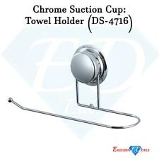 Chrome Super Suction Wire Towel Holder Bathroom Accessory (DS-4716)