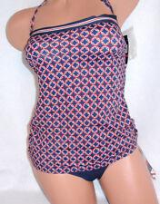 Tommy Hilfiger Swimwear Womens 2 piece Bandini Blue Size XS MSRP $120 Swimsuit