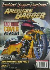 American Bagger February 2016 Facebook Cover Winner Daytona FREE SHIPPING sb
