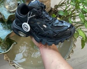 BALENCIAGA SNEAKER TRACK Noir shoes chaussure 42 US8.5 neuf