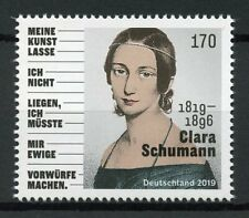 Germany Stamps 2019 MNH Clara Schumann Piano Composers Music 1v Set