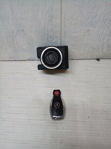 OEM 2000-06 Mercedes-Benz W220 S-Class Ignition Lock Switch w/Key 2155450208