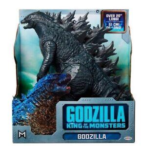 "Godzilla 20"" Action Figure Toy Jakks King Of Monsters Movie BRAND NEW In Stock"