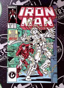 Iron Man #221-224 1987 Marvel NM 9.4 Ghost Blizzard Armor Wars Disney+