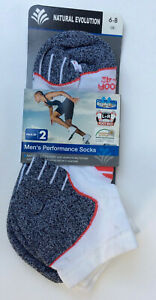 Natural Evolution Running / Trail Socks size 6 - 8 Pack of 2