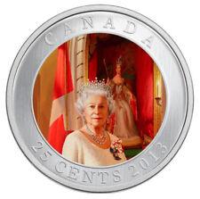 2013 Canada 25 cent Coin - Queen's Coronation