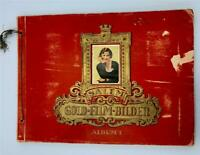 1930's GERMAN CIGARETTE HOLLYWOOD AND GERMAN FILM STAR ALBUM ALMOST COMPLETE!