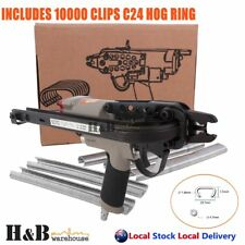 Pneumatic 24mm C24 Hog Ring Fencing C Clip Air Operated Gun Pliers F0010