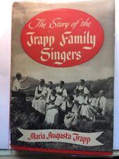 MULTI-SIGNED MARIA TRAPP FAMILY SINGERS PLUS 1950 BROCHURE & MUSIC PROGRAM