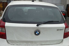 BMW 120i E87 2005 MODEL TAIL GATE ONLY PAINT CODE 300 IN ALPINE WHITE COLOUR