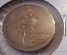 1968 AUSTRALIA 20 CENT COIN