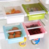Kitchen Slide Freezer Fridge Space Saver Storage Rack Organizer Shelf Holder ILC
