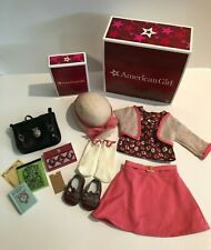 American Girl KIT's SCHOOL GIRL SUPPLIES and SKIRT SET COMPLETE Retired Boxes
