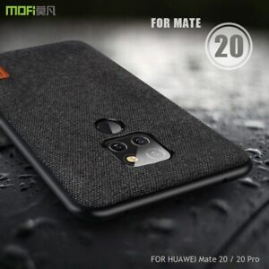 Huawei Mate 20 X / 20 Pro Case Cover Fabric Back Soft Edge Full Frosted Case New