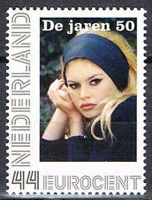 Nederland 2563-Aa-2  Nostalgie in postzegels de jaren 50 Brigitte Bardot
