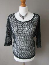 Polyester No Pattern Scoop Neck NEXT Tops & Shirts for Women