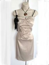 Satin Ball Gown Dress Size 8 Party Coctail Dress Races Cruise