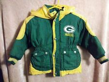 NFL Football Green Bay Packers 2T Toddler Mighty Mac Hooded Coat
