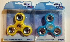 Lot of 2 Belle/Cinderella Disney Princess Emoji 3 Way Diztracto Fidget Spinner