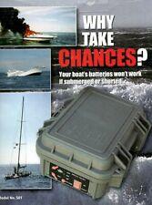 MARINE EMERGENCY POWER SUPPLY 12V, for VHF, SSB Radio, Chart Plotter, GPS