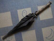 Ancien - Ombrelle, parapluie tige et poignée en bois (A restaurer)