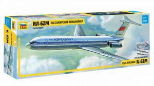 Zvezda 7013 Civil Airliner IL-62M 1/144
