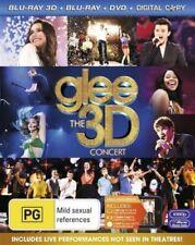 glee: The 3D Concert - Blu-Ray 3D+Bluray+DVD+Digital Copy - New & Sealed