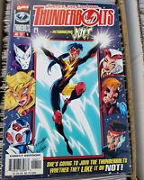 Thunderbolts #4 (1997, Marvel) VF+ Vol 1 1st Full App of Jolt!
