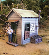 0794 Crossing Shanty Laser-Cut Wood Kit O... by Bar Mills Models - ON SALE!