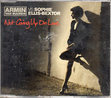 "ARMIN VAN BUUREN Vs SOPHIE ELLIS-BEXTOR ""NOT GIVING UP ON LOVE"" CD MAXI / SEALED"