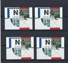 Niederlande ATM 1996 Frama 10-70-80-100 Cent postfrisch