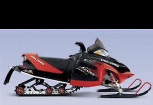 2005 Polaris Fusion 700 LED Headlight Kit Plug & Play SOLD BY SNOWMOBILER