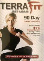 TERRA FIT 6-Disc DVD SET Sealed NEW Get Lean 90 Day Total Body Transformation