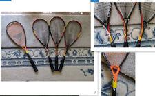 Prince Phoenix Pro Squash Racquets (3), One Tecnifibre Dynergy 120