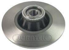 2x Brake Discs (Pair) Solid fits NISSAN PRIMASTAR X83 Rear 2.0 2.0D 2001 on Set