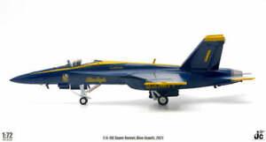 USN F/A-18E Super Hornet #1 Blue Angels 2021 JC Wings JCW-72-F18-009 1:72